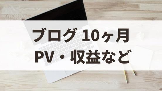 ブログ10ヶ月目の運営報告【2021年2月】